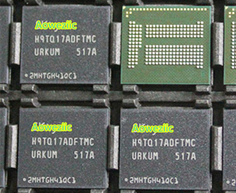 все цены на (1PCS) (2PCS) (5PCS) (10PCS)  100% New original H9TQ17ADFTMCUR-KUM BGA  Memory chip  H9TQ17ADFTMCUR KUM онлайн