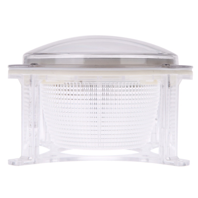 5 SMD 3528 LED Solar Power Panel Lawn Light Garden Path Dock Deck Yard Landscape Lighting Lamp Outdoor PC & ABS White