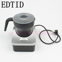 CUKYI Automatic Milk Frother And Warmer Electric Milk Heater Coffee Cappuccino Lattes Foam Maker Deluxe 220V