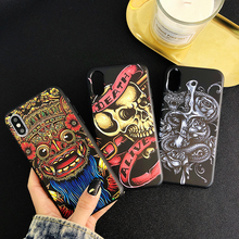 Retro snake soft case for iphone X XS MAX XR 8 7 6 6s plus phone cover matte silicon 3d Super relief Skeleton fundas coque capa цена и фото