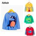 Short Sleeve Boys T Shirts ruikajia boys clothes Summer Cartoon T-Shirt Kid Baby Children T Shirt Roupas Infantis Menino