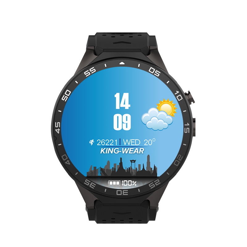 Hot Selling KW88 Smart Watch Android Bluetooth Smartwatch Phone 1.39 inch support 3G wifi Heart Rate for Mobile KW88 Smart Watch kktick d6 smartwatch phone android 5 1 heart rate monitor smart watch wifi gps bluetooth 4 0 1 63 inch