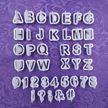 Alphabet Numbers Cookie Cutter Set