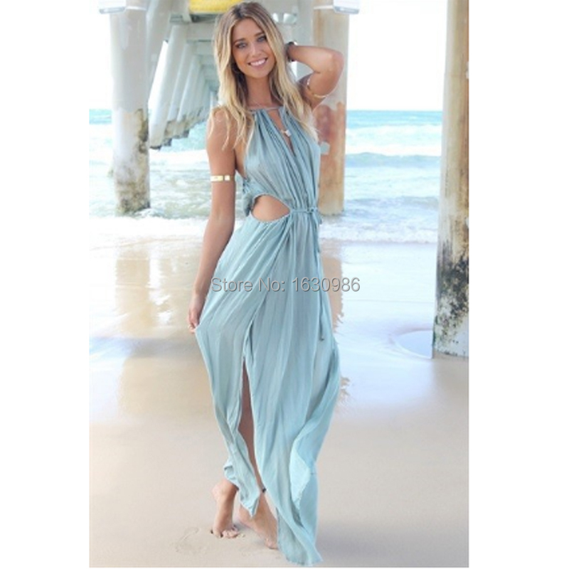 new sexy women long beach dress hot sale beach cover up