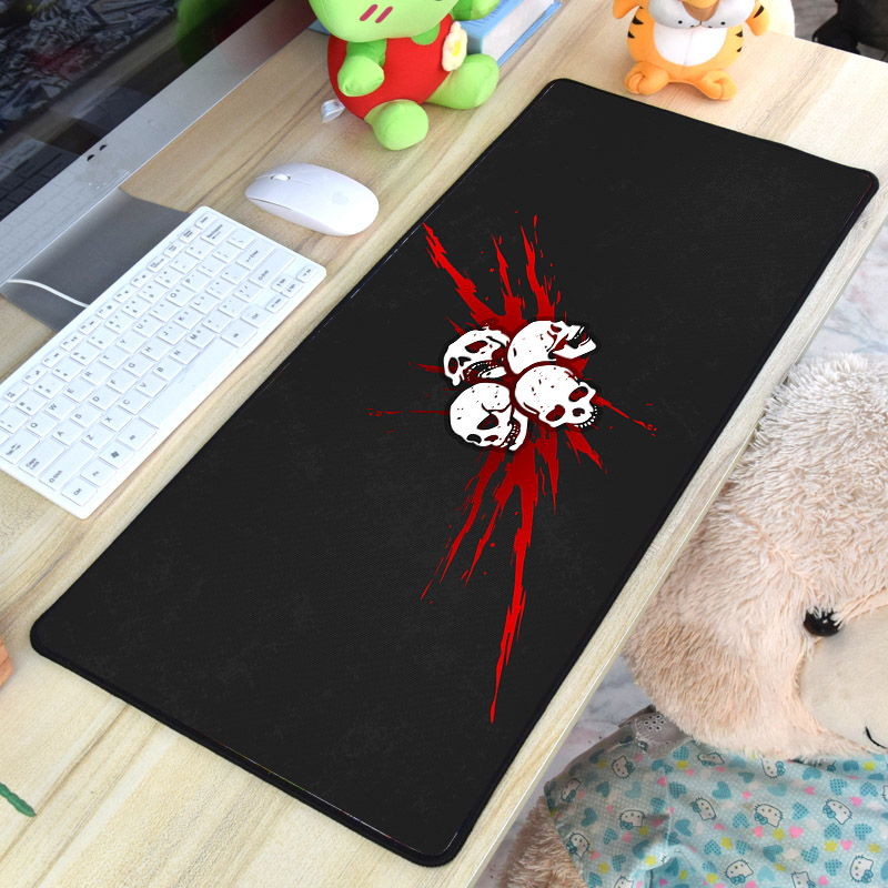Mairuige Large Size Video Game Gaming Mousepad 400x900MM Dead By Daylight Computer Tablet Mat Pad To Keyboard Mouse for Gamer