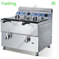 Fast Food Restaurant Equipment Henny Penny 36L gas Chicken photo chips fish donut Pressure deep Fryer