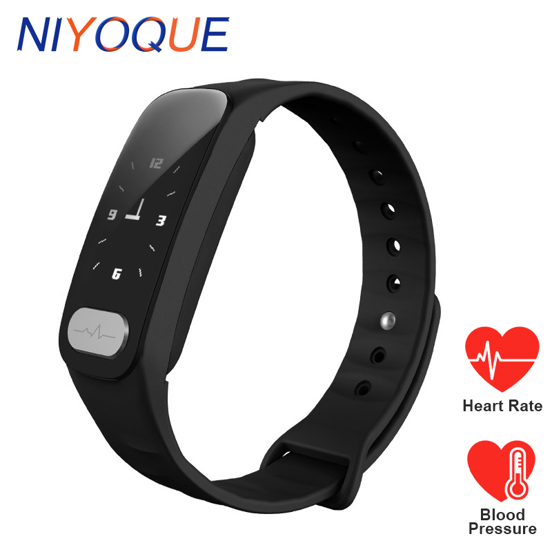 NY11 Smart Band ECG Blood Pressure Tracker Wristband Health Heart Rate Alcohol Allergy Fitness Tracker Bracelet for Android iOS