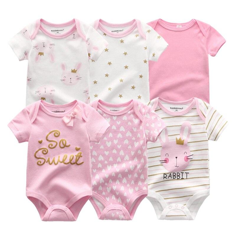 2021 Новейшие 6 шт./лот для маленьких девочек одежда; Богемный комплект, Roupa de bebes кукла трансфер до/Одежда для маленьких мальчиков «Единорог», о...