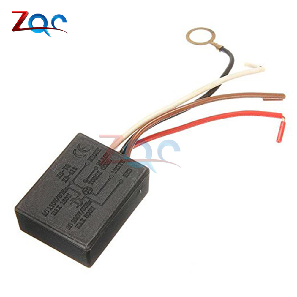 AC 100-240V 3 Way Touch Sensor Switch Desk Light Parts Touch Control Sensor Dimmer For Bulbs Lamp Switch 3 Channel 110V 220V