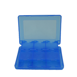 10 PCS 3DS Case 28 in 1 Game Memory Card Cases Plastic Micro SD Holder for N D S/ N D S i New 3DS LL XL Cartridge Storage Box