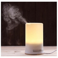 70ML Aromatherapy Air Humidifier Fogger LED Night Light Carve Aroma Diffuser Mist Maker Diffuser For Home