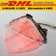 motorcycle partsLED Tail Brake Light turn signals for YZF-R1 2004 2005 2006 Clear