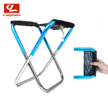 Outdoor Folding Chair Simple Folding Mini Stool Portable Camping Fishing Train Bench Lined Up Small Mazar CL236