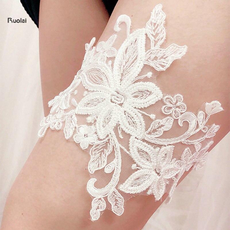 What Is Wedding Garter: 2018 New Arrival Cheap Sexy Flower Wedding Leg Garter