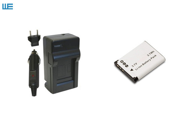 Ladegerät für PENTAX OPTIO W90 W-90