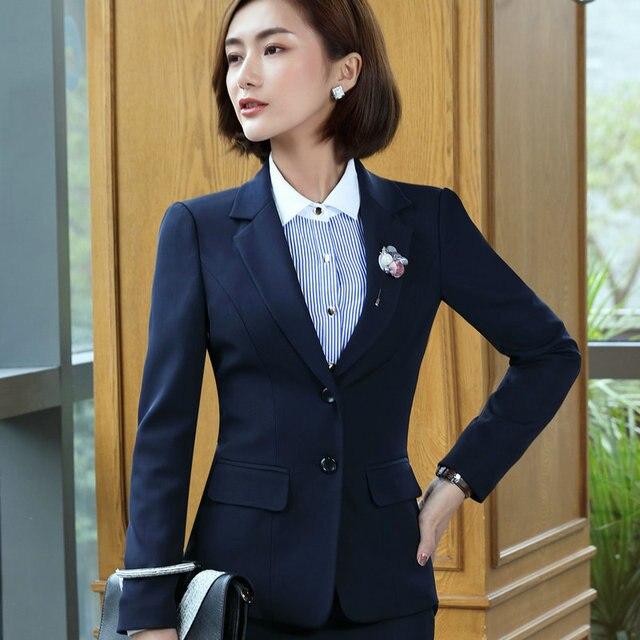 f4982668ae60 1pcs Women s Plus size jacket and blazers 2017 Autumn cotton blend Slim fit  ladies Skinny Small Suit Jackets blazers Coats girls
