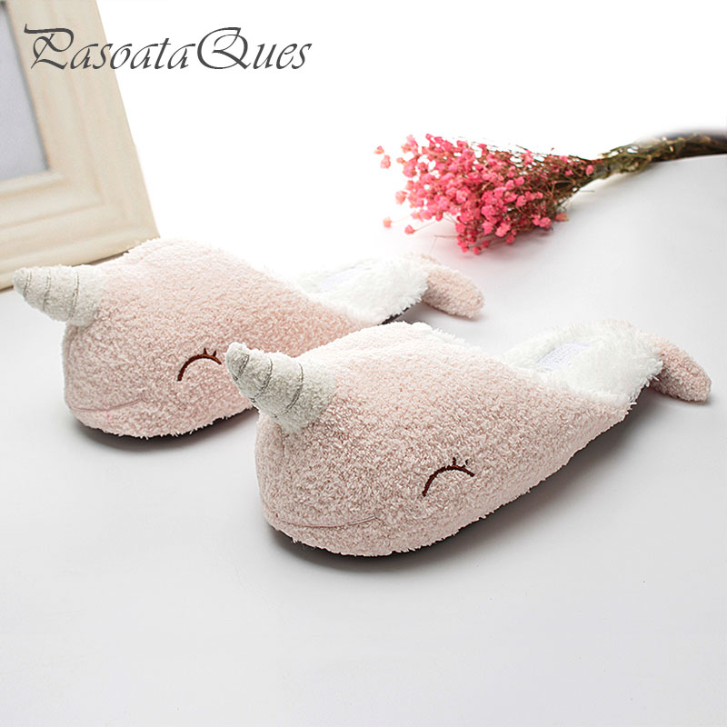 Cute Unicorn Slippers Women 39 S House Shoes For Indoor Bedroom Slippers Soft Bottom Comfortable