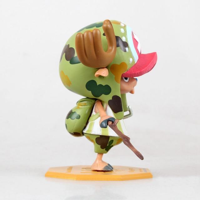 One Piece Tony Tony Chopper World Cute Straw Hat Action Figure Toy