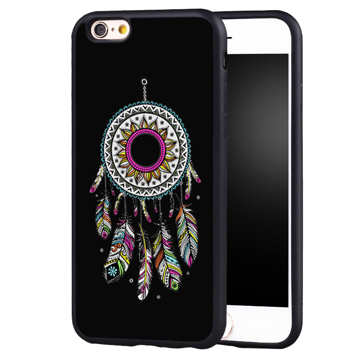 Indian Style Dream Catcher Full Protective case Cover For iPhone X 8 7 7Plus 6 6S Plus 5 5S 5C SE
