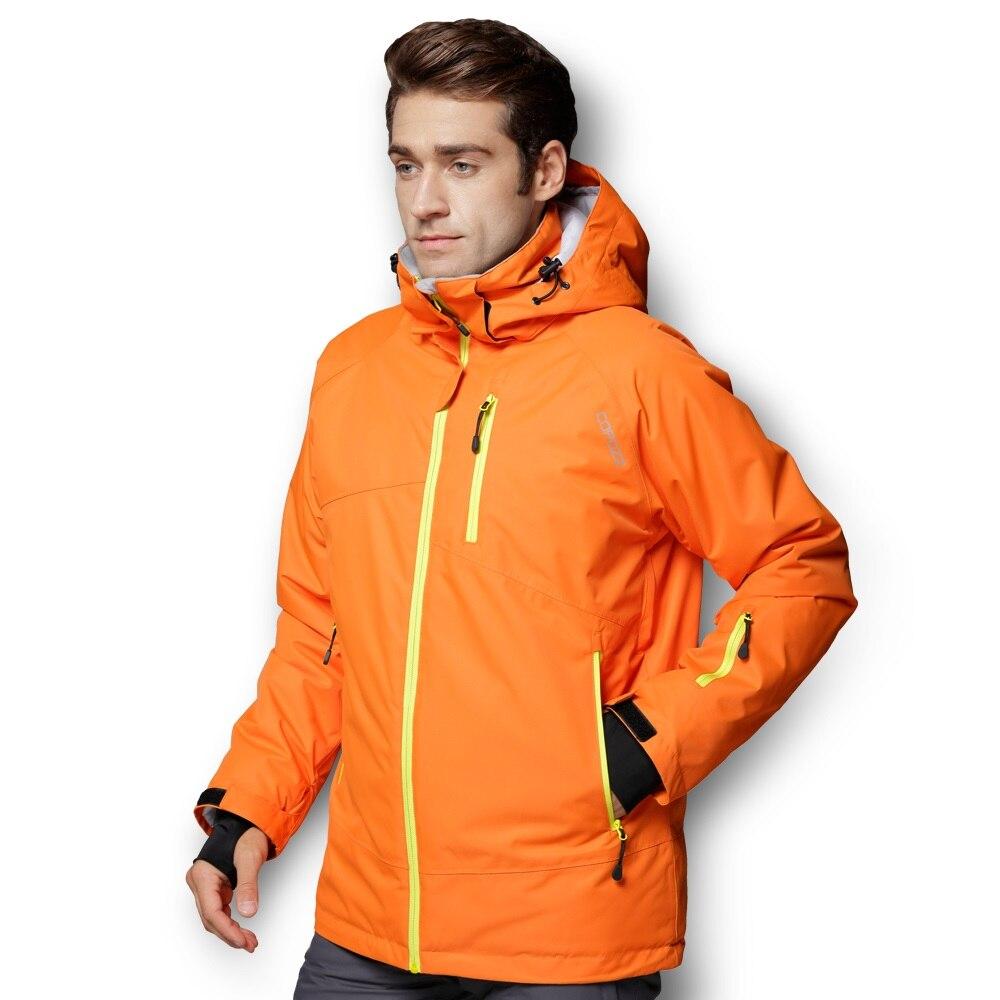 COPOZZ combinaison de Ski montagne imperméable Snowboard veste de Ski chaude et pantalon ensemble de Ski hommes femmes hiver en plein air femme mâle neige costumes - 3