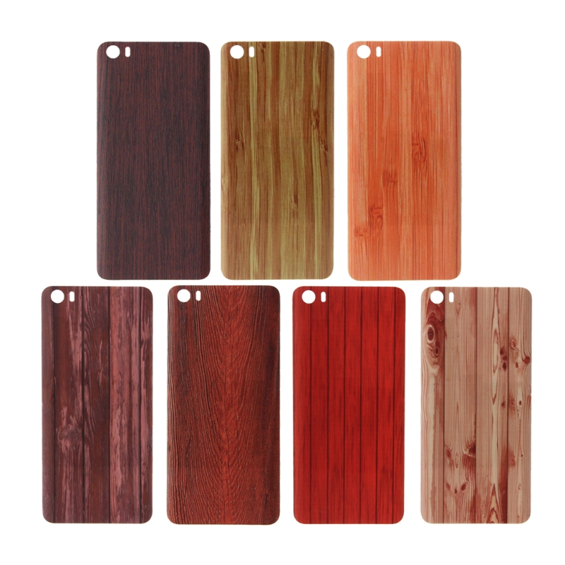 OOTDTY Ultra-Thin Wood Bamboo Pattern Rear Housing Back <font><b>Battery</b></font> <font><b>Cover</b></font> For <font><b>Xiaomi</b></font> <font><b>Mi5</b></font> image