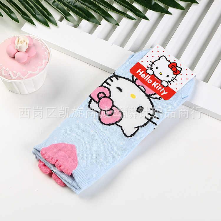 e7cd7183a ... Cartoon Hello Kitty sock fashion cute funny sweet anime women socks  spring summer comfortable cotton white