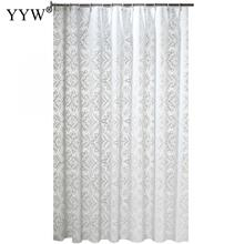 Peva Bath Screens Floral Bathroom Shower Curtains Moldproof Waterproof Products Nordic Accessories