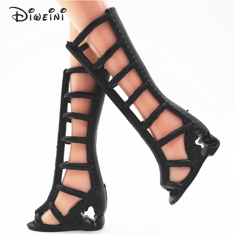 DIWEINI-12PCS-Shoes-for-Barbie-Dolls-Toys-Fashion-Doll-Accessories-Baby-Toys-Girls-Gift-Princess-fairy-tale-shoes-1
