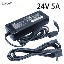 DC 24V 5A Power Supply Adapter Switching Transformer Charger For 5050 Led Strip Driver Converter EU/US/UK/AU Plug цена