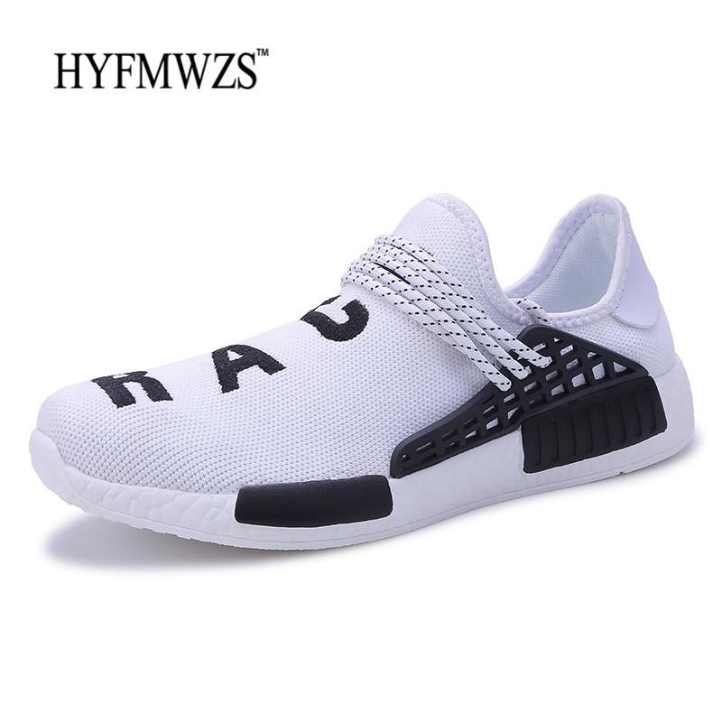 HYFMWZS 2018 Новый красовки кроссовки для Для мужчин нескользящая спортивная обувь Для м ...