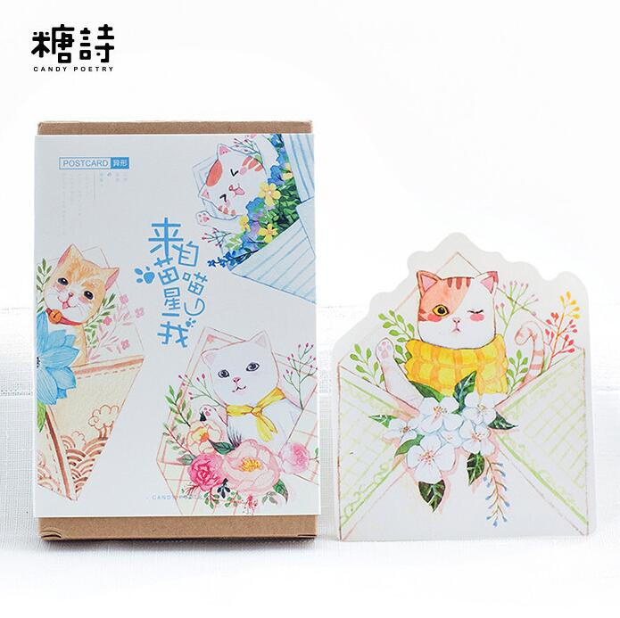 Aliexpress.com : Buy 30 Pcs/pack Come From Flower Meow
