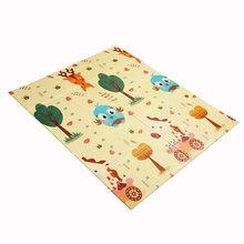 Infant Baby Play gym Mat Xpe Puzzle Children's Mat Thickened Infantil Baby Room Crawling Pad Folding Mat Carpet kids toys gift 145 195cm baby crawling mat thickening children folding mat living room carpet climbing mat can be machine washed for baby gift