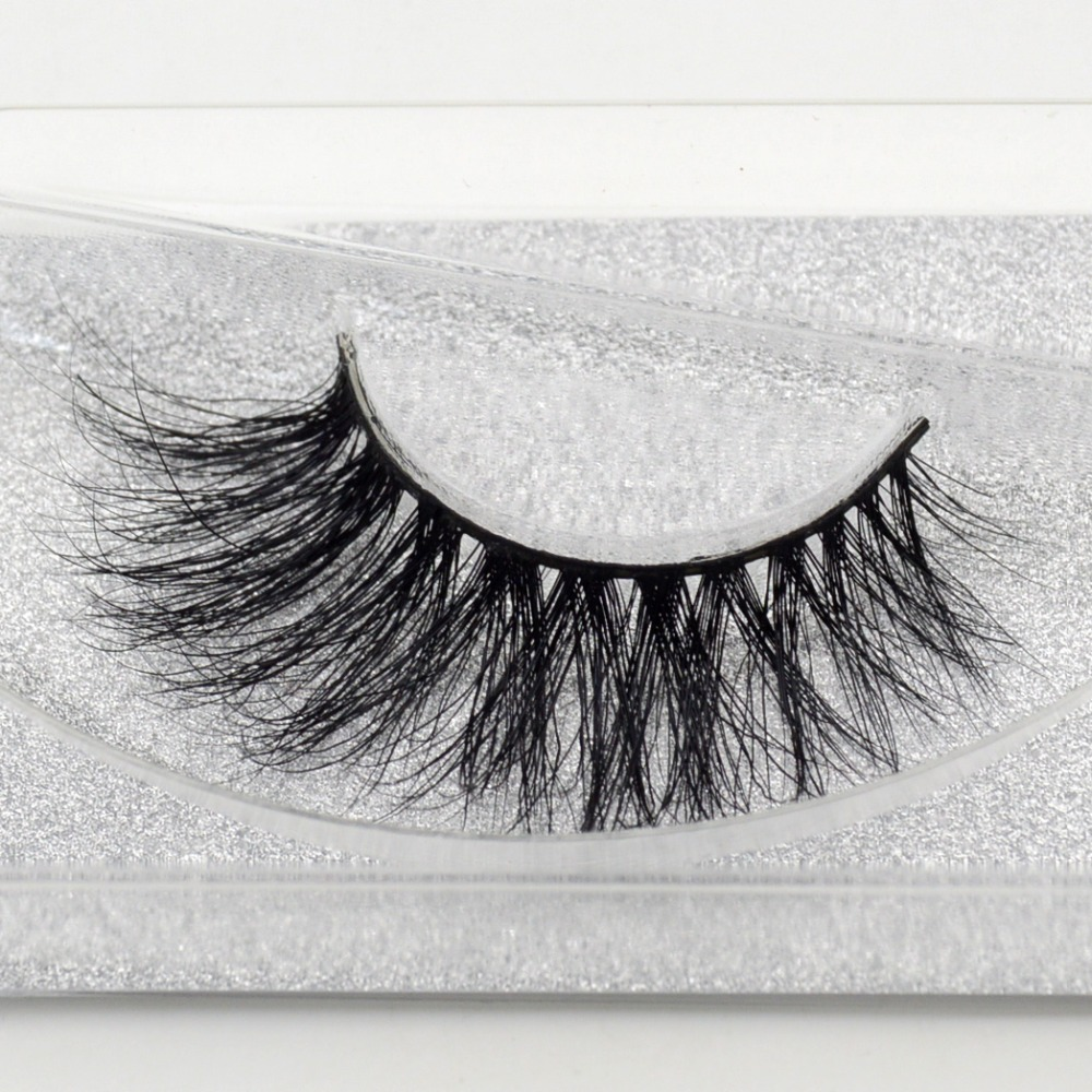 b2a0398b517 Visofree Mink Lashes Crisscross 3D Mink Eyelashes Hand Made Eyes Lashes  Fashion Fake Lashes Maquillaje Makeup Accessories A21