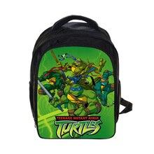 Anime Teenage Mutant Ninja Turtles Sac À Dos TMNT Enfants Sacs D'école des Garçons Des Mutants École Sacs À Dos Enfants de La Maternelle Sac