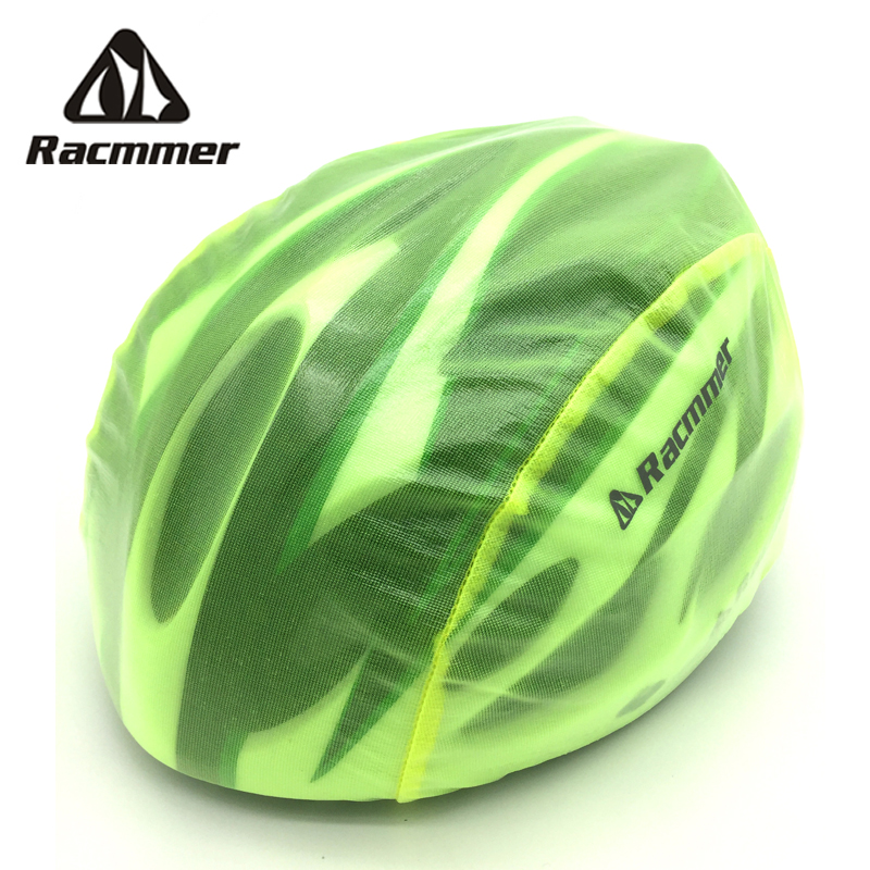 Rockbros Windproof Dust-proof Rain Cover MTB Road Bike Helmet Cover Green New