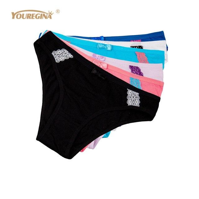 227dd386822 YOUREGINA Ondergoed Vrouwen Lingerie Katoen Sexy Slipje Kant Naadloze  Slipje Culotte Femme Hipster Bikini Thongs String