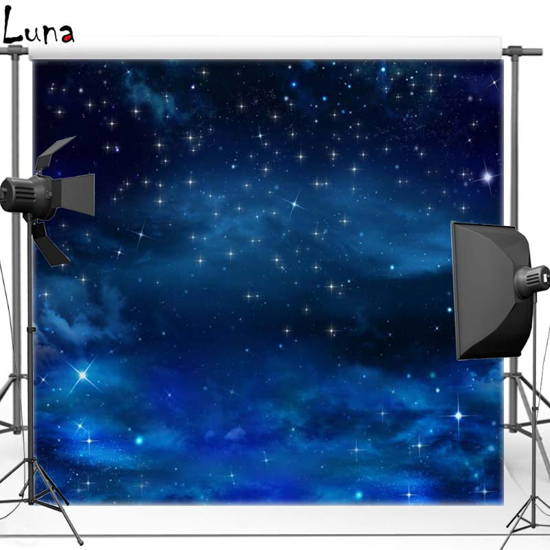 MEHOFOTO Space Star Vinyl Photography Background For Newborn Night Sky Photo New Fabric Flannel Background For Photo Studio 2703 mehofoto night sky vinyl photography background for baby dark clouds new fabric flannel backdrop for wedding photo studio f2724