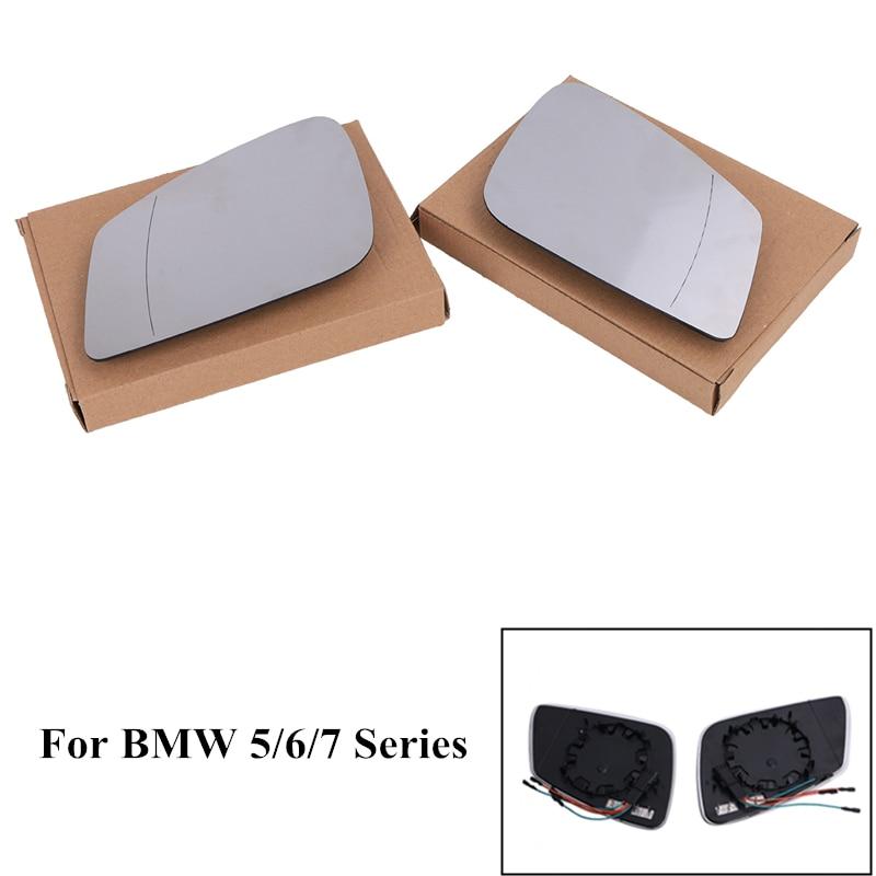 Front  Left Rear View Mirror Cover For BMW E60 525i 528i 530i 535i 545i 645 650
