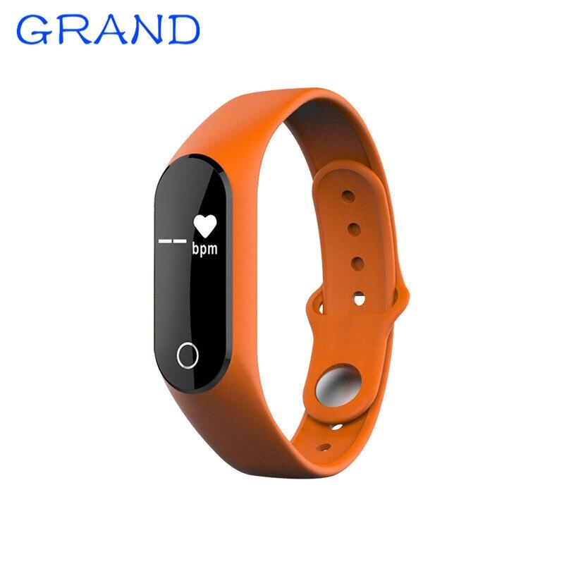 TLW25 Bluetooth Smart Bracelet Smartband Heart Rate Monitor Sleep Tracker Sports Pedometer Calorie Sedentary Reminder Happybate