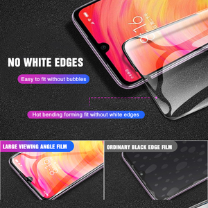 Image 3 - 9D Tempered Glass For Xiaomi Redmi note 7 6 5 Pro Screen Protector For Redmi 6 6A 5 5A 5 Plus S2 Glass Protective Film On note 7