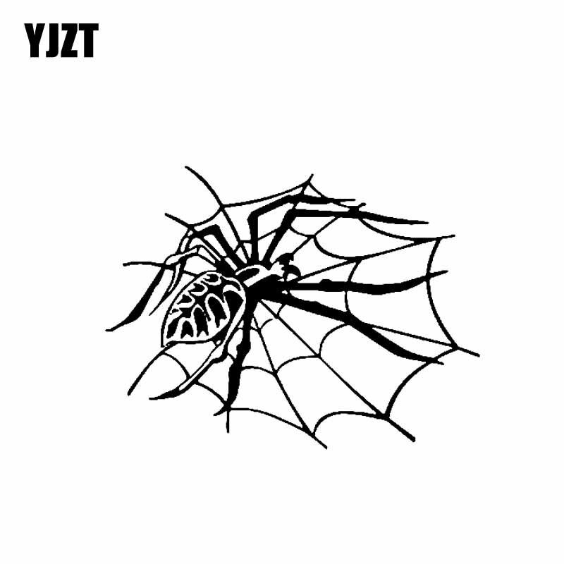 Party Glass Window Halloween spider vinyl stickers X 16