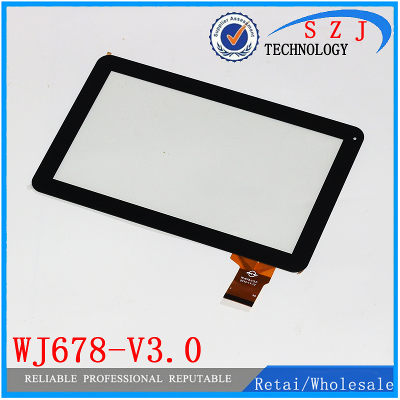 Original 10.1 inch touch screen Tablet PC digitizer touch panel glass lens replacement WJ678-V3.0 WJ678-V2.0 Free shipping