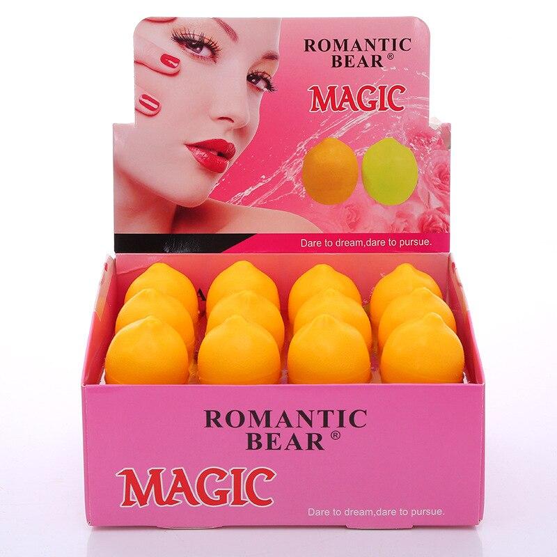 Romantic Bear Lip Balm Moisturizer Lemon oil Lip Cosmetics Professional makeup for Lips 24pcs=1box drop shipping
