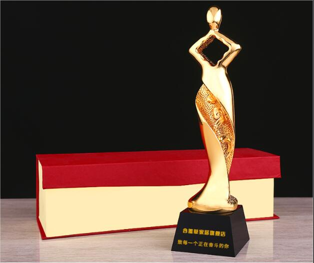 High quality!Chasing Dream Metal Resin Trophy Enterprise Outstanding Staff Awards Gift Souvenir,Free shipping!High quality!Chasing Dream Metal Resin Trophy Enterprise Outstanding Staff Awards Gift Souvenir,Free shipping!