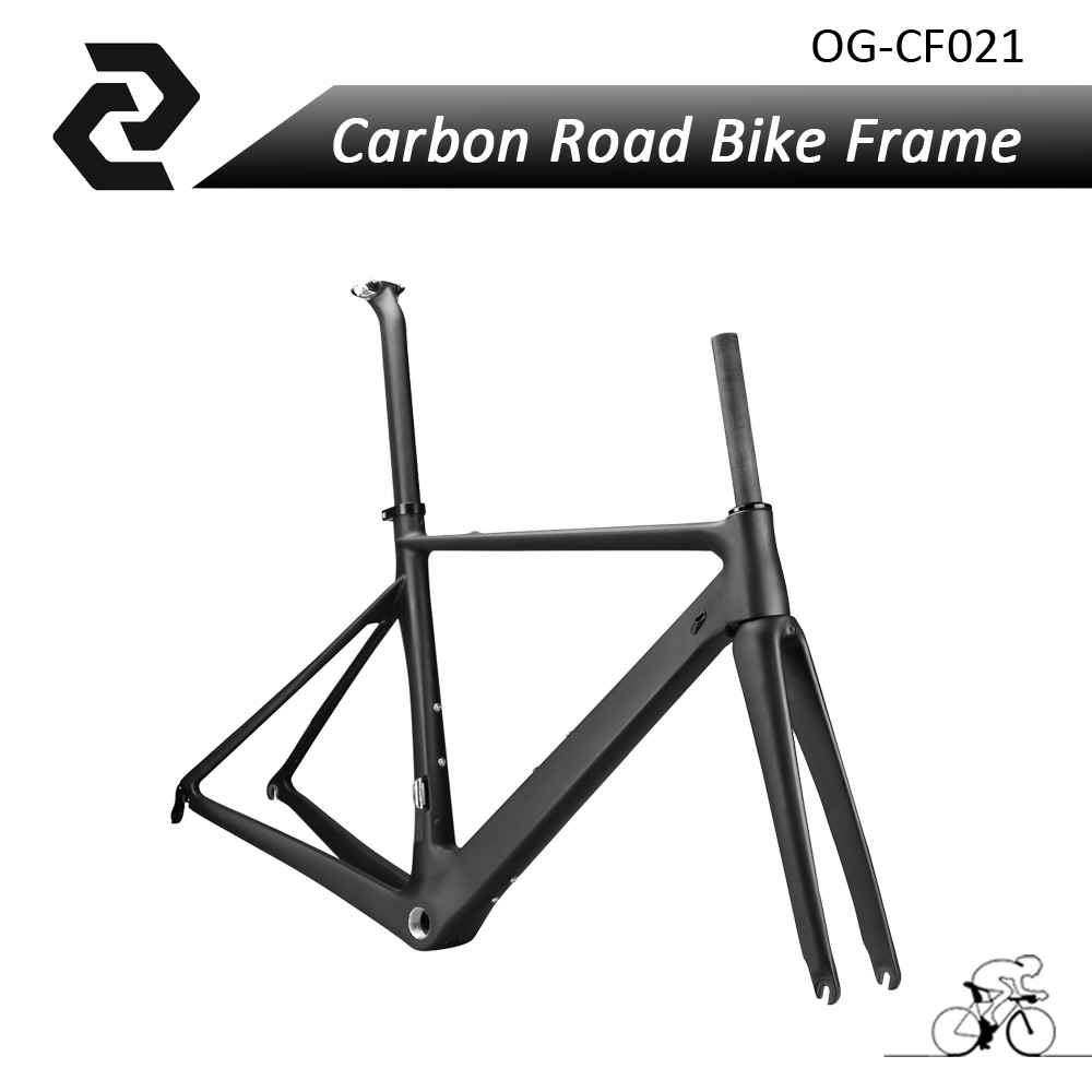 New Arrival OG-EVKIN Carbon Aero Road Bike Frame Sports Cycling Bicycle Parts Di2 BSA UD Glossy/Matt Free Shipping Support OEM pasion e bike 28 road bike utility bicycle electric conversion kit 48v 1500w rear wheel motor 7 speed freewheel sensor brake