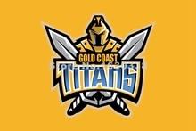 Gold Coast Titans Flag 3ft X 5ft National Rugby League NRL Banner Size 4 144* 96cm Flag