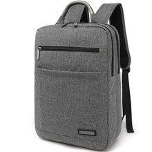 Diseño único mochilas back pack oxford cuadrados hombres laptop mochila 15 bolsa de ordenador portátil mochila de la mujer