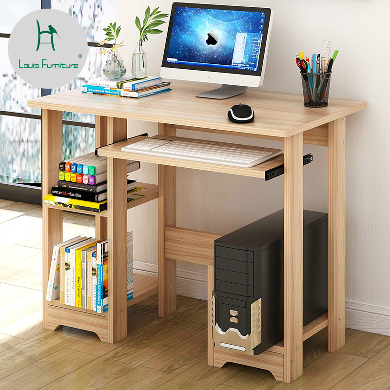 US $26 9 |Louis Fashion Computer Desks Household Modern Simple Easy Write  Learn-in Computer Desks from Furniture on Aliexpress com | Alibaba Group