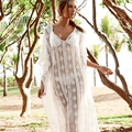summer style Pure White Long Chiffon sun protection Dresses Pregnant Photography Props Fancy Pregnancy Photo Shoot LM15