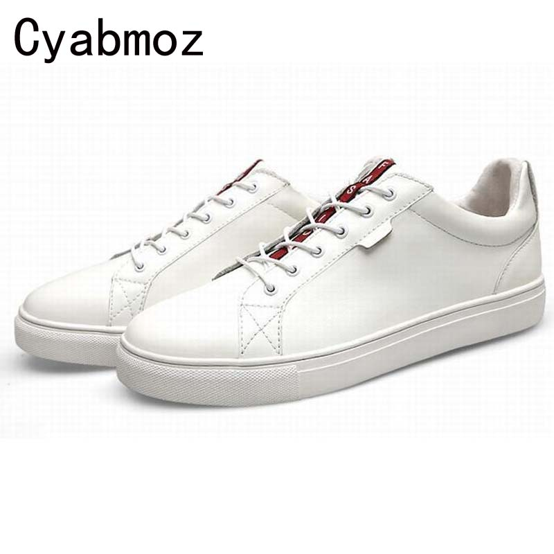 Hot New Men Leather Casual Shoes Man Low Top Fashion Spring Summer Male  Flats Shoes Breathable Comfortable Plus Size 47 2016 new style summer casual men shoes top brand fashion breathable flats nice leather soft shoes for men hot selling driving